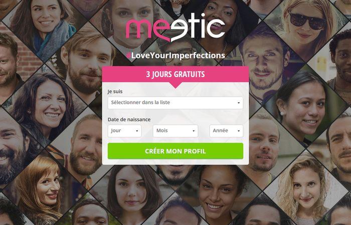 Meetic 3 jours gratuit