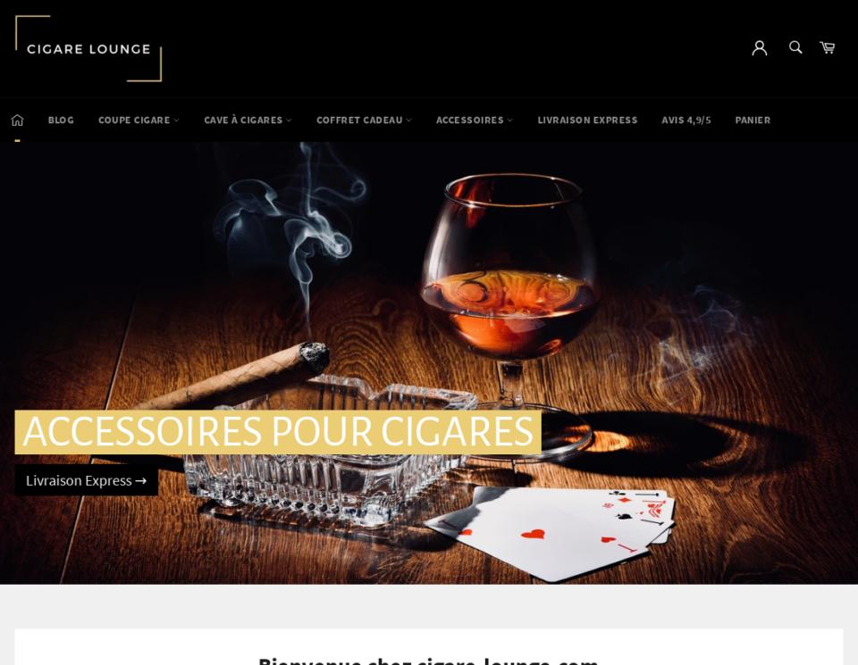 Vente d'accessoires pour cigares